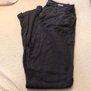 Level 99 Newport Wise Leg Linen Pants